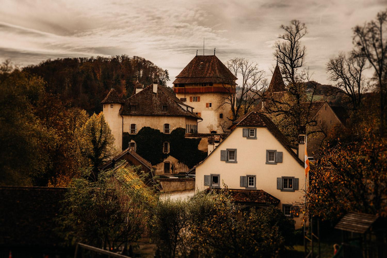 Hochzeitsfotografie Basel Schweiz Schloss Wildenstein Bubendorf