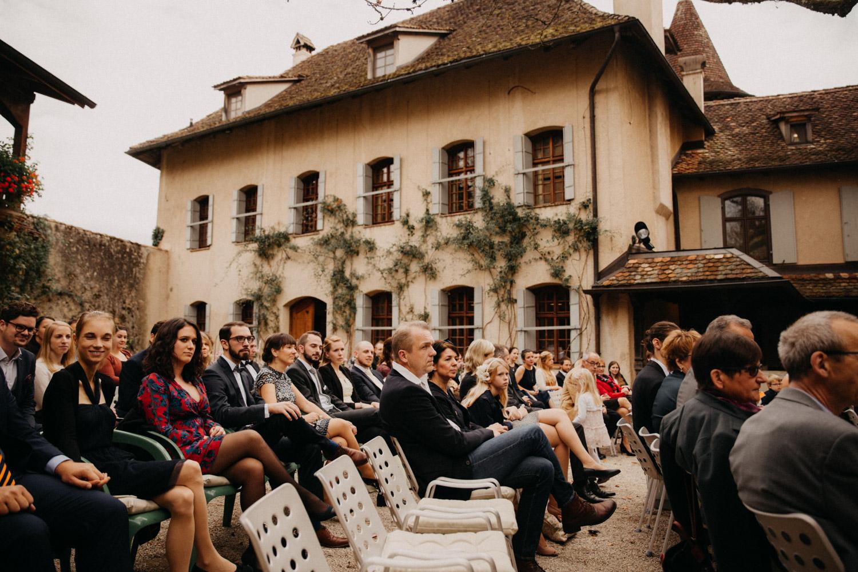 Hochzeitsfotografie Basel Schweiz Schloss Wildenstein Outdoor Trauung Freie Trauung