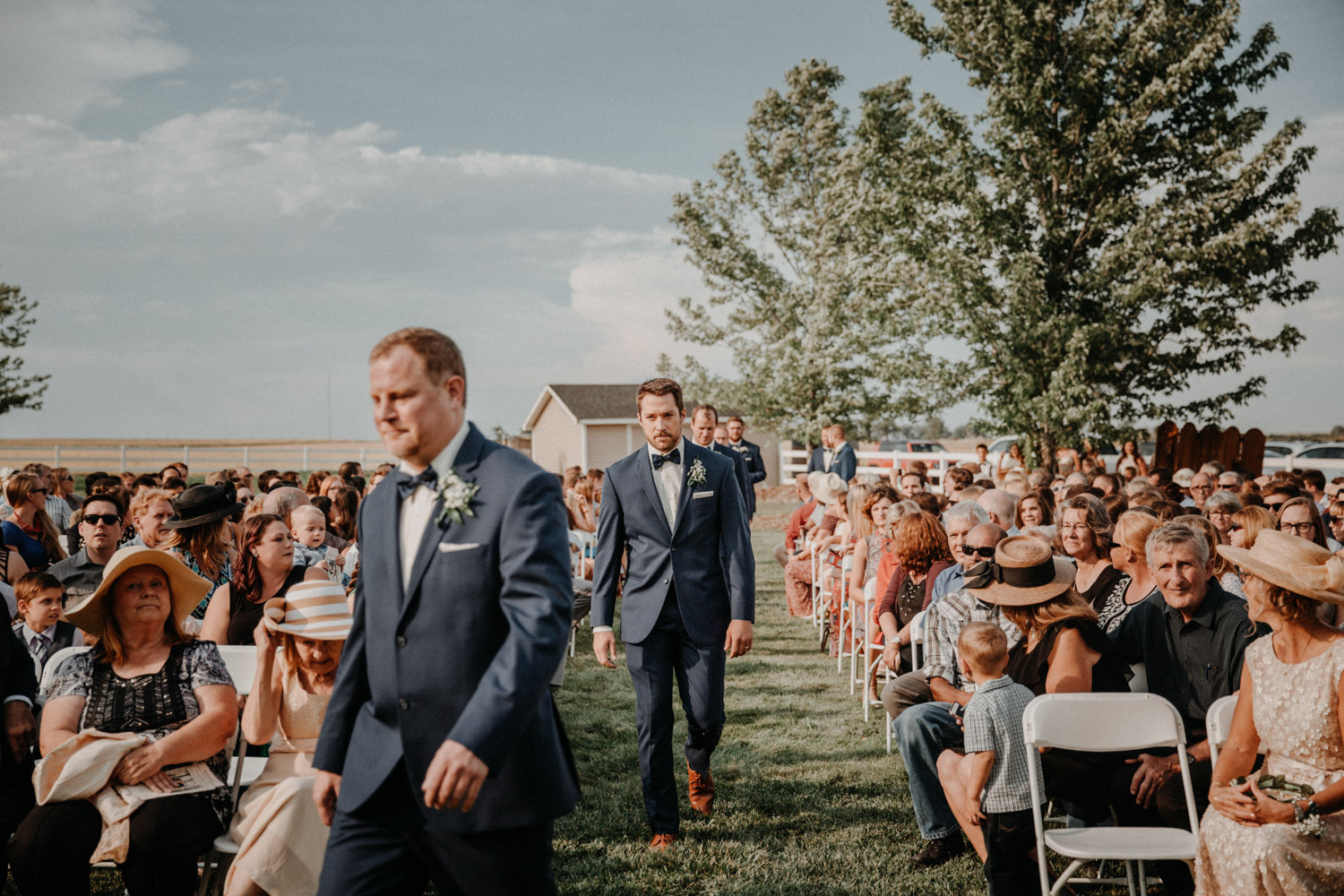 Swiss destination wedding photographer Colorado Denver Vintage Wedding groomsmen