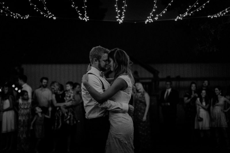 Swiss destination wedding photographer Colorado Denver Vintage Wedding barn wedding first dance