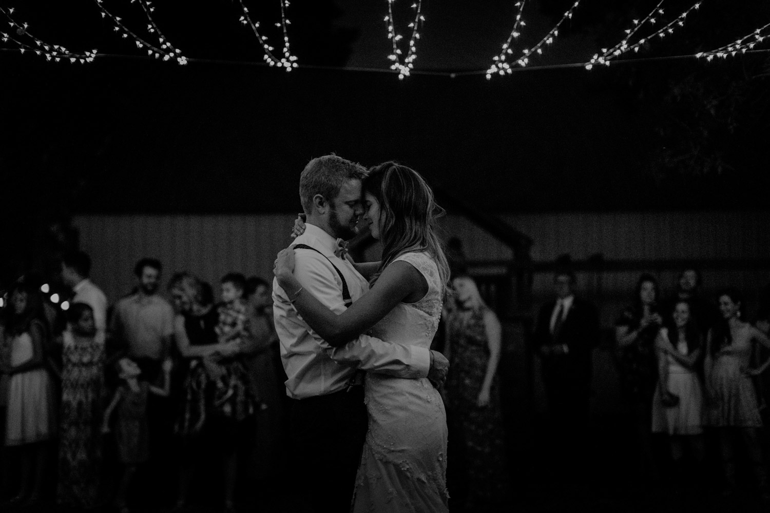 Swiss destination wedding photographer Colorado Denver Vintage Wedding barn wedding first dance