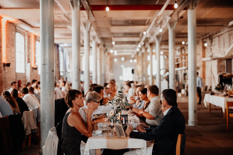Vintage Industrial Bohemian Wedding in Switzerland wedding photographer elopement photographer location Tonwerk Lausen bridal couple shooting  unposed natural