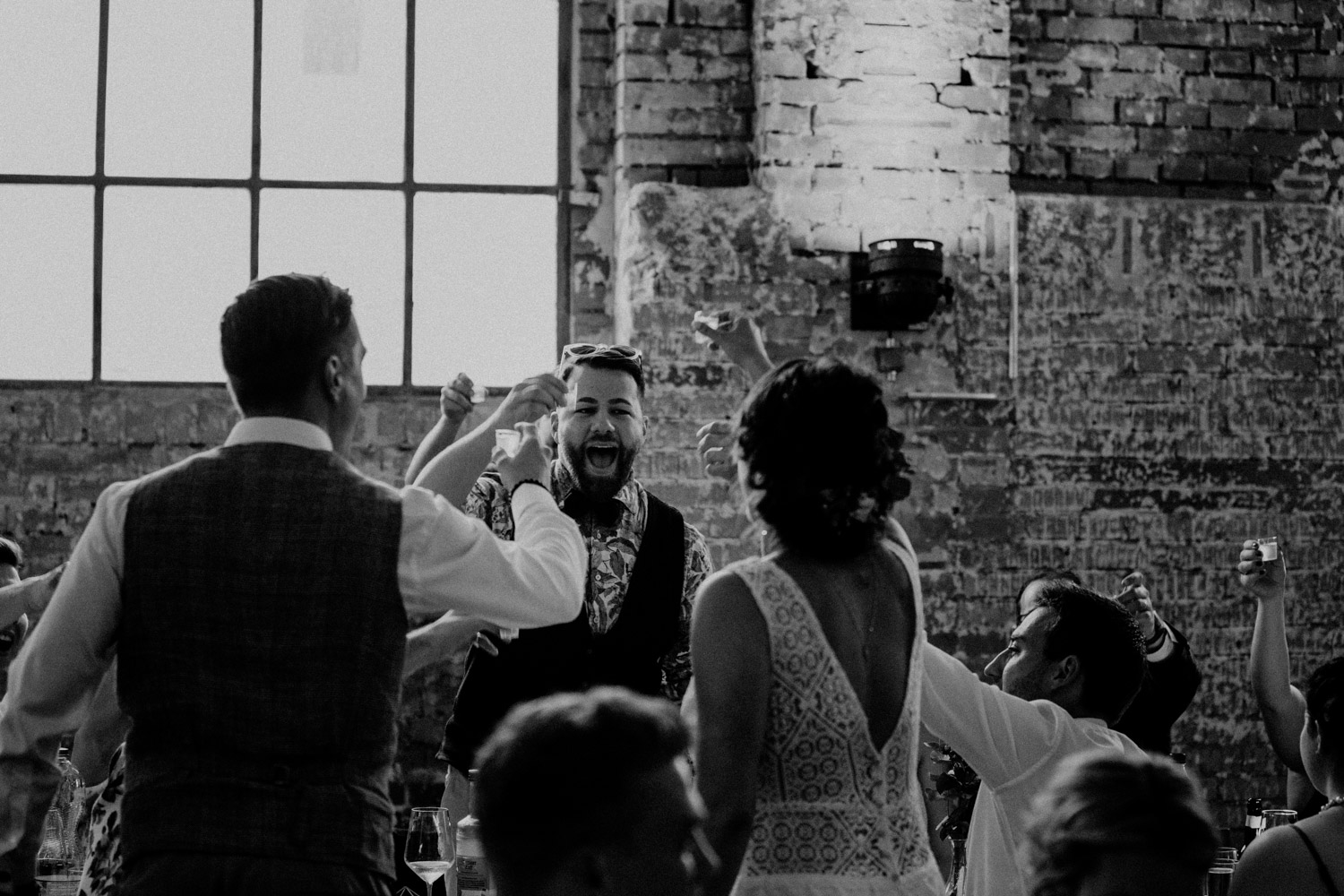 Vintage Industrial Bohemian Wedding in Switzerland wedding photographer elopement photographer location Tonwerk Lausen