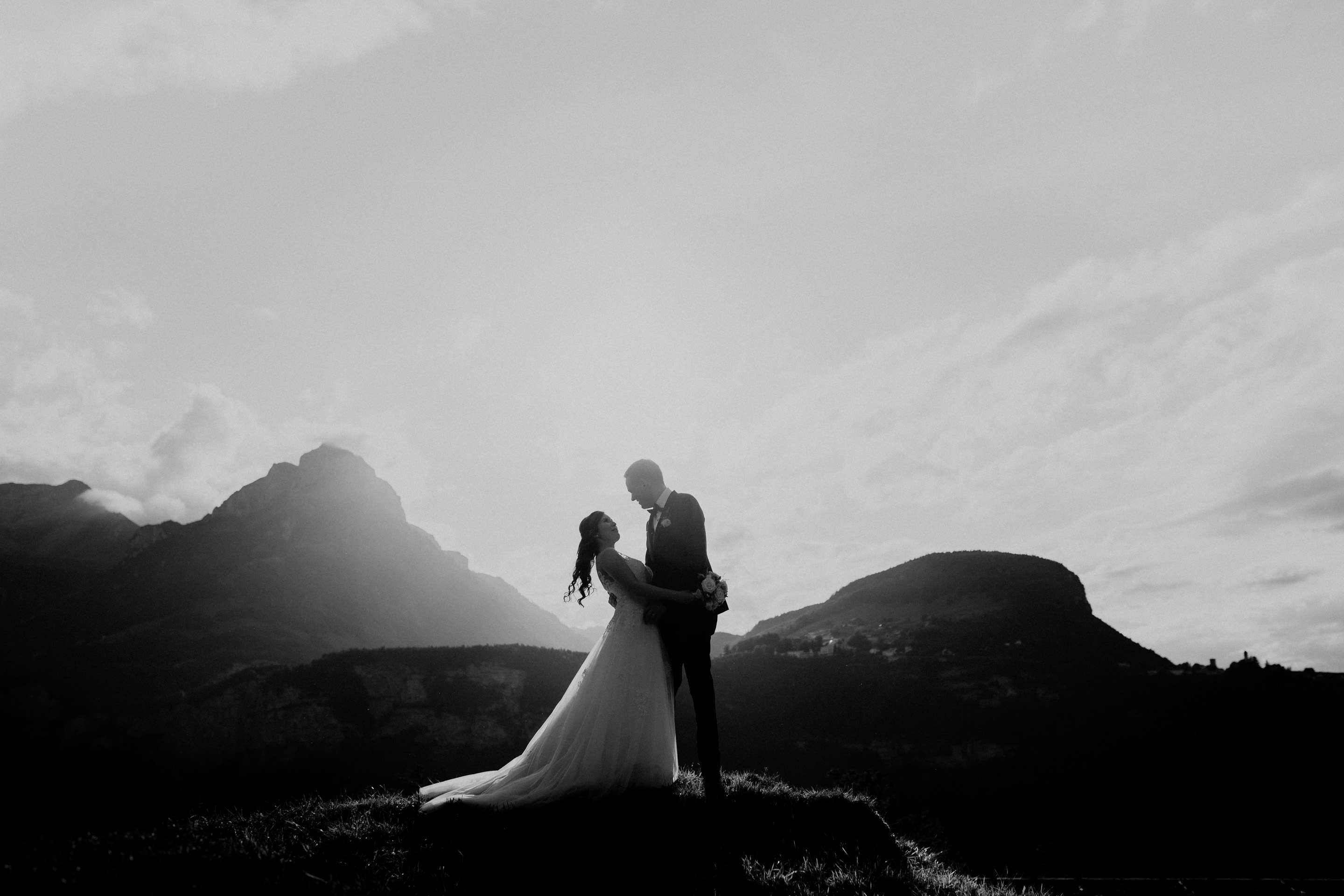 Elopement Photographer Switzerland Swiss Mountain Elopement